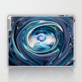 Chrome Spin Laptop & iPad Skin