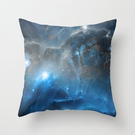 Ice, Dust and a Billion of Stars Throw Pillow