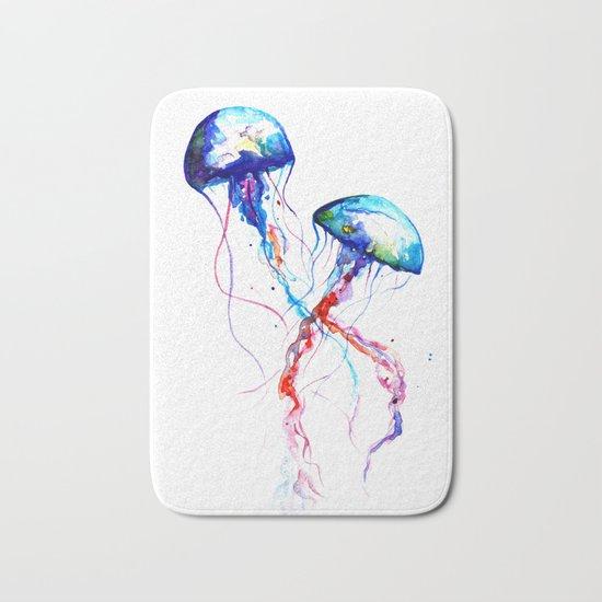 Jellyfish Bath Mat