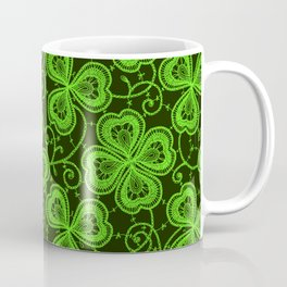 Clover Lace Pattern Coffee Mug