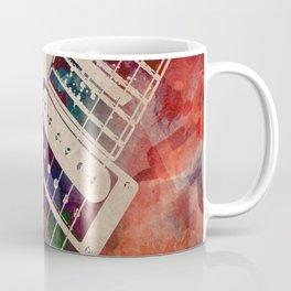 guitar art 7 #guitar #music Coffee Mug