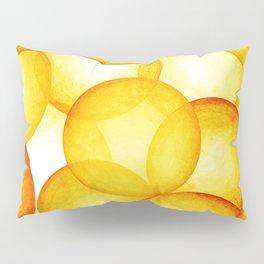 PLAYFUL ORANGE SPHERES Pillow Sham