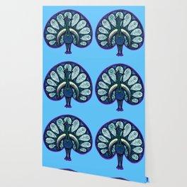 Proud Blue Wallpaper