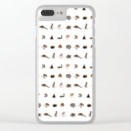 Australian wildlife Clear iPhone Case
