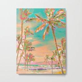 Hawaii Beach, Mauna Lani Bay Metal Print