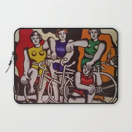 The Beautiful Cyclists by Fernand Léger Laptop Sleeve