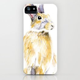 Hare Bunny iPhone Case