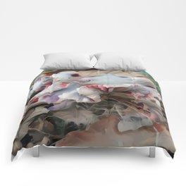 Warped Laccaria Comforters
