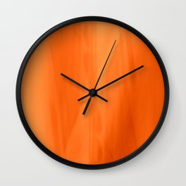 Color Serie 1 orange Wall Clock