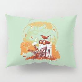 Birdwatcher (reds) Pillow Sham