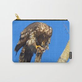 Houdini in Feathers! Carry-All Pouch