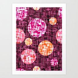 Ray Purple Art Print