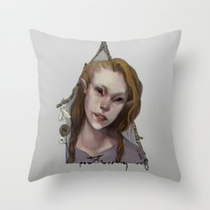 Hedge Witch 1 Throw Pillow