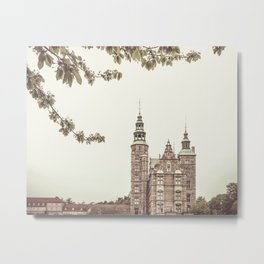 Rosenborg Castle, Copenhagen, Denmark Metal Print