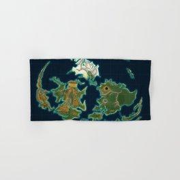 Final Fantasy VII - Shinra Airways World Map Hand & Bath Towel