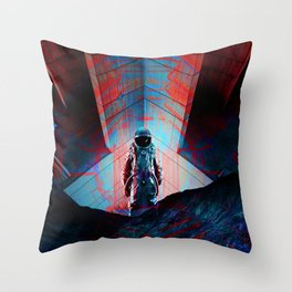 See you soon Space Cowboy Throw Pillow