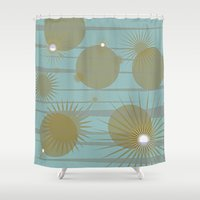 planets Shower Curtains featuring Planets by carriejeandesigns