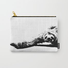 A Smiling Sloth Carry-All Pouch