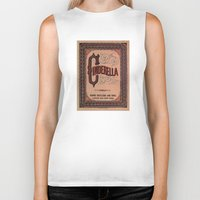 book cover Biker Tanks featuring Cinderella Book Cover by proudcow