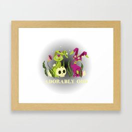 Adorably Odd Framed Art Print