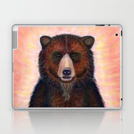 Blissed Out Bear Laptop & iPad Skin