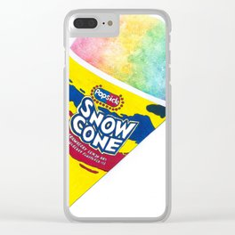 SNOW CONE Clear iPhone Case