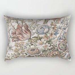 Fleur Vintage Bouquet Rectangular Pillow