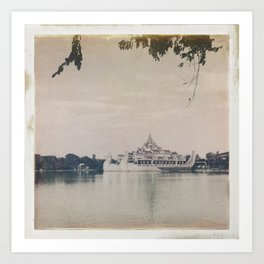 Burmese Memories #1 Art Print