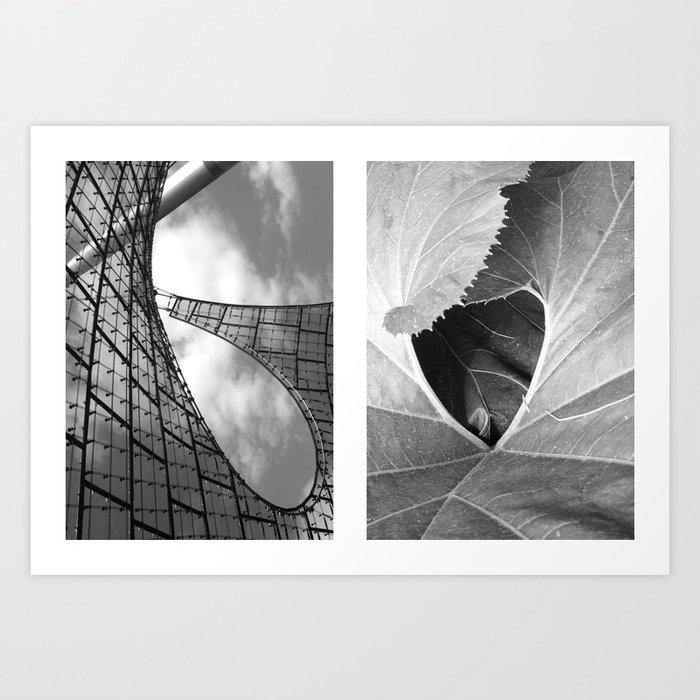 untold spaces Art Print