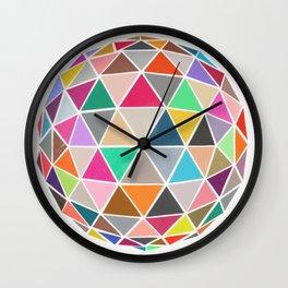 geodesic 1 Wall Clock