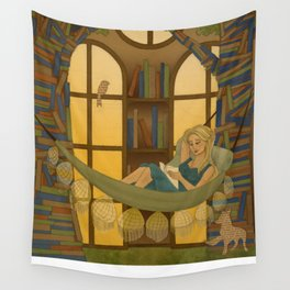 Reading Forest Wall Tapestry