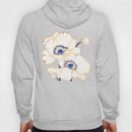 Ultramarine Blue :: Anemones Hoody