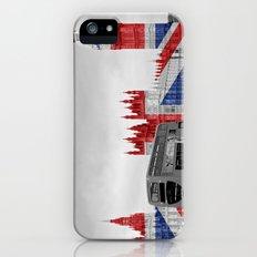 Big Ben, London Bus and Union Jack Flag iPhone (5, 5s) Slim Case