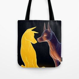 The Sun and the Moon Tote Bag