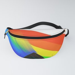 Painted Rainbow Children's Book Illustration Fanny Pack