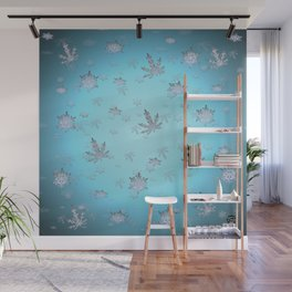 Let Weed Snow Wall Mural