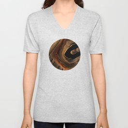 Tiger's Eye Canyon Unisex V-Neck