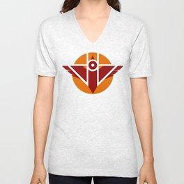 Firebird Insignia (Alternate Coloring 2) Unisex V-Neck
