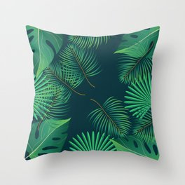 Leaf #01 Throw Pillow
