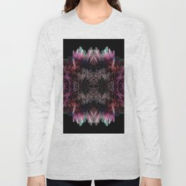 Sequins 3D Explosion Long Sleeve T-shirt