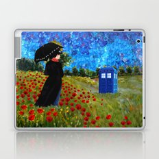 mary poppins and phone box at rose field iPhone 4 4s 5 5c 6, pillow case, mugs and tshirt Laptop & iPad Skin