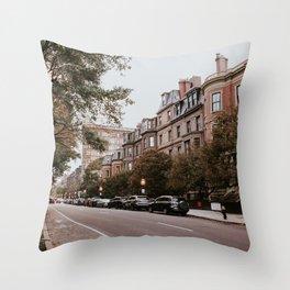 Boston Streets // Throw Pillow