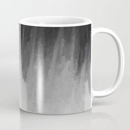 Ice Rays in a Black Sky Coffee Mug