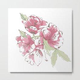 Flowering cluster Metal Print