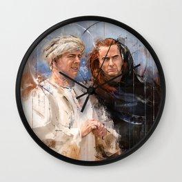 Golgotha 1 Wall Clock