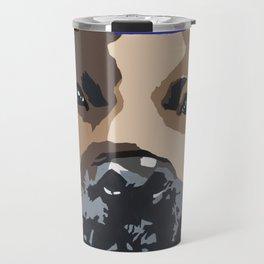 Prince on blue Travel Mug