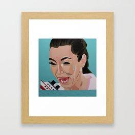 An Ocean Of Tears Framed Art Print