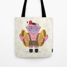 The Monkey Boy Tote Bag