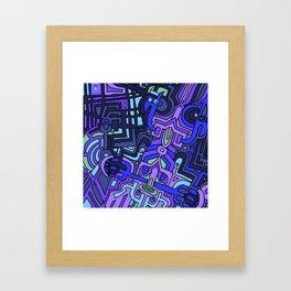 BAD KIDS Framed Art Print