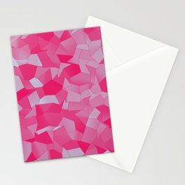 Geometric Shapes Fragments Pattern mb Stationery Cards